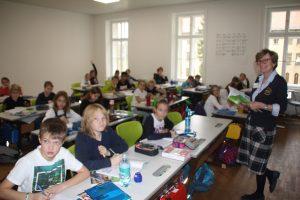 Englischunterricht 1 Klasse