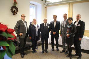 Das Organisationsteam mit Landtagsabgeordnetem Dr Michalitsch